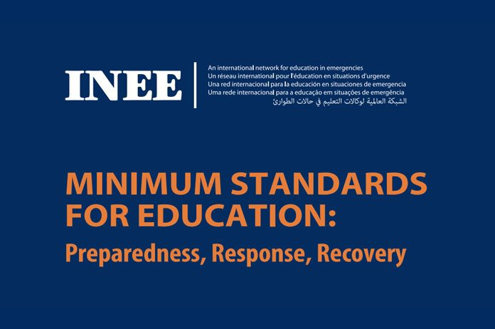 inee minimum standards handbook pdf